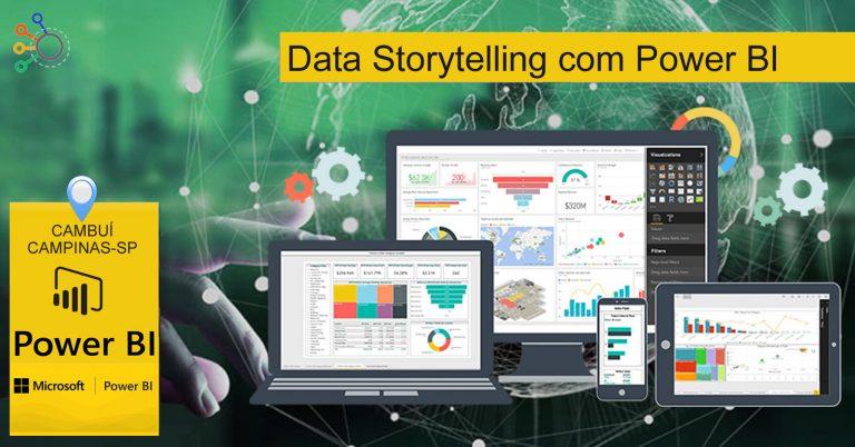 Curso Data Storytelling com Power BI Campinas -SP (presencial)